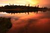 Stormy Sunset, Baum Lake CA