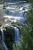 Burney Creek and Burney Falls Vertical View, Macarthur Burney Falls State Park, CA